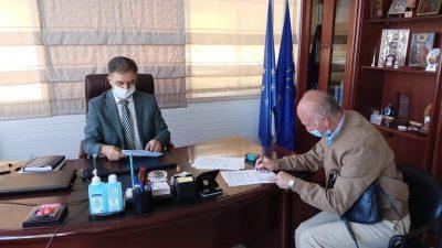 Δήμος Βισαλτίας : Υπεγράφη η σύμβαση για το έργο εκσυχρονισμου του δικτύο Νιγρίτας