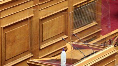 Το επίπεδο της Βουλής έπιασε… δάπεδο