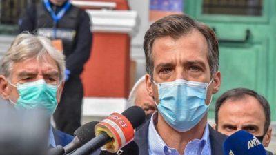 Σέρρες : Έκκληση Αρκουμανέα για  τα rapid test