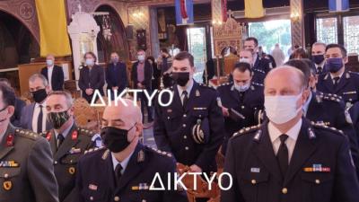Σέρρες : Οι αστυνομικοι τίμησαν τον προστάτη τους