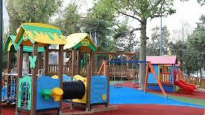 Δήμος Βισαλτίας : Αναβάθμιση παιδικών χαρών  Ανθής-Σησαμιάς-Αμπέλων