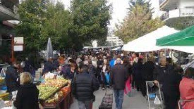 Σέρρες : Πώς θα λειτουργήσει η λαϊκή αγορά την Τρίτη 24 Νοεμβρίου