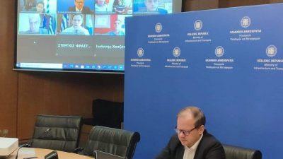 Σέρρες : Τηλεδιάσκεψη Καραμανλή με φορείς – Άμεσες παρεμβάσεις στήριξης της υλικοτεχνικής υποδομής του νοσοκομείου