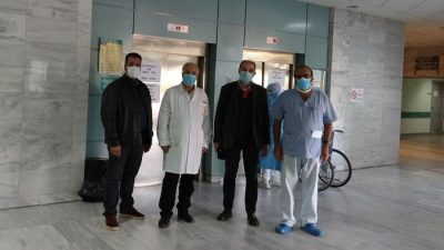 Σέρρες : Επίσκεψη στο νοσοκομείο του ΔΣ του ιατρικου συλλόγου