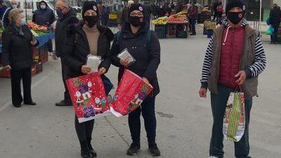 Δήμος Βισαλτίας : Διανομή μασκών στην λαικη της Νιγρίτας