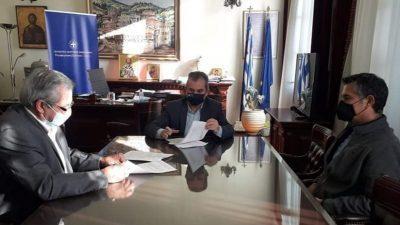 Π.Ε Σερρών : Προγραμματικη σύμβαση με το ΤΟΕΒ Σιδηροκάστρου για τον εκσυχρονισμο του αρδευτικου δικτύου