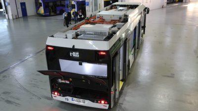 Κώστας Καραμανλής : Σε δοκιμαστικη  κυκλοφορια  τα πρώτα ηλεκτροκίνητα λεωφορεία