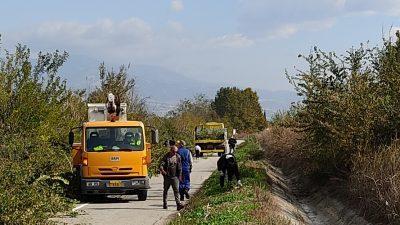 Δήμος Ηράκλειας : Εργασίες διάνοιξης δρόμων και κόμβων