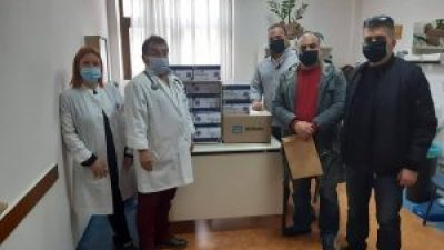 Δήμος Σιντικής : Δωρεά 1.000 rapid tests από τον  στα Κ. Υ Σιδηροκάστρου και Ροδόπολης.