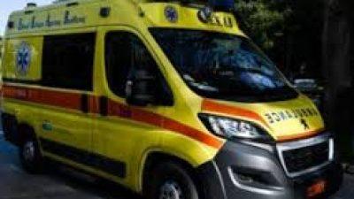 Σέρρες : Τροχαίο στο Εθνικο στάδιο -Τραυματισμός ηλικιωμένου