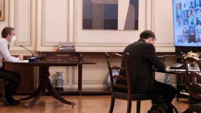 Τάσος Χατζηβασιλείου : Στην τηλεδιάσκεψη του ΕΛΚ με τον Κυριάκο Μητσοτάκη