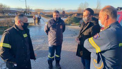 Π.Ε Σερρών : Στις πληγείσες ( απο την θεομηνία ) περιοχές ο Τάσος Χατζηβασιλείου