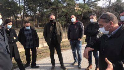 ΚΚΕ Σερρών : Επίσκεψη κλιμακίου στις πληγέντες ( απο την θεομηνία )  περιοχες της Βισαλτίας