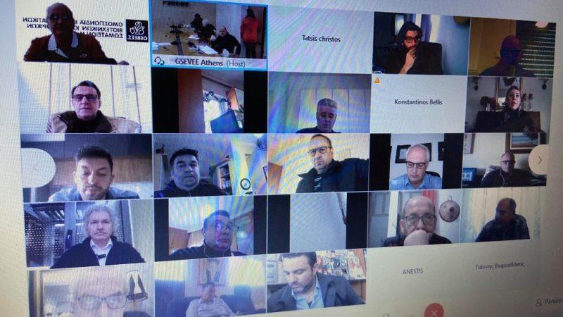 ΟΕΒΕΣ Σερρών : Στην συνεδρίαση του ΔΣ  της ΓΣΕΒΕΕ ο Σώτος Κοτσαμπάς