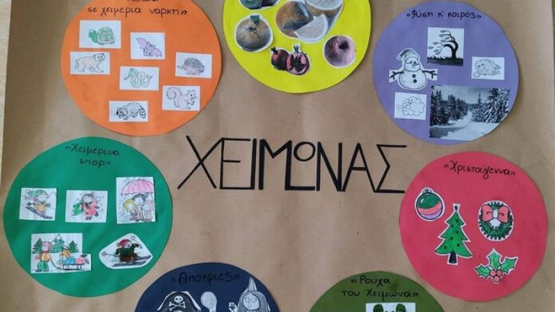 """Σέρρες : """"Εικόνες του Χειμώνα"""" από τα παιδιά της Ηλιαχτίδας"""