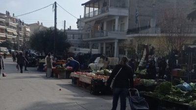 Σέρρες : Η λειτουργία των λαικών της πόλης , Τρίτη 16 Φεβρουαρίου