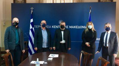 Δήμος Αμφίπολης Φράστανλης – Σπυρόπουλος ενώνουν δυνάμεις για την αξιοποιηση του λιμανιου Αμφίπολης