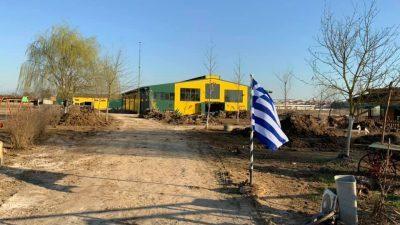 Δήμος Εμμανουήλ Παππά : Χωματουργικές εργασίες αποκατάστασης στο ΚΕ.Θ.Ι.Σ