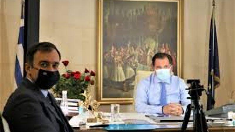 Τάσος Χατζηβασιλείου : Συνάντηση με Άδωνι -Πρόταση για ίδρυση  Δημοπρατηρίου Αγροτικών  Προιόντων
