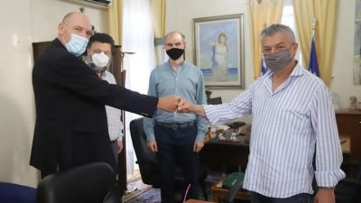 Δήμος Αμφίπολης : Επίσκεψη κλιμακίου ΚΙΝΑΛ