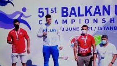 Σέρρες : ¨¨Χρυσός ¨¨ ο Γεννίκης στο Βαλκανικό Πρωτάθλημα Κ20