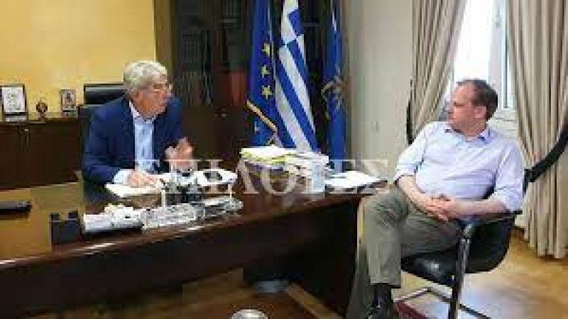 Δήμος Ηράκλειας : Το ευχαριστώ του δημάρχου στον Κώστα Καραμανλή