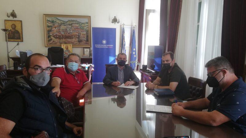 ΠΕ Σερρών : Έργα αποκατάστασης  φθορών σε αναχώματα του ποταμού Στρυμόνα