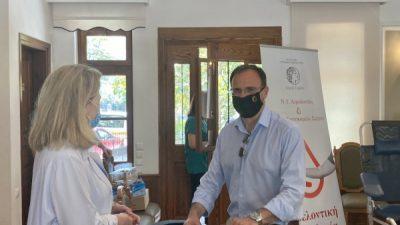 Δήμος Σερρών : Μεγάλη η ανταπόκριση στην εθελοντική αιμοδοσία