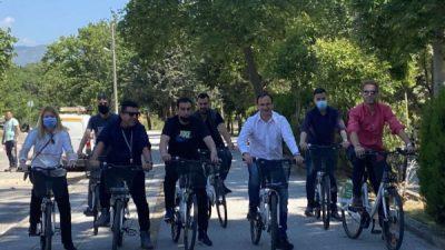 Δήμος Σερρών : Με ορθοπεταλιές γιόρτασαν την Παγκόσμια Ημέρα Ποδηλάτου