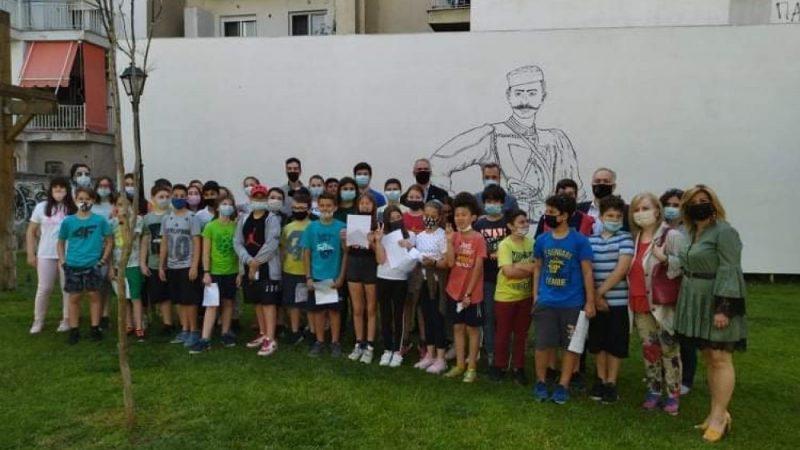 Σέρρες : Μαθητές τιμησαν τους ήρωες του Μακεδονικού Αγώνα