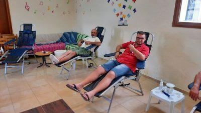 Δήμος Σιντικής : Με μεγάλη συμμετοχή η αιμοδοσία του ΦΟΣ