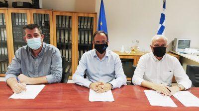 ΔΕΥΑ Σερρών : Υπογράφηκε η σύμβαση για το  νέο αποχετευτικό δίκτυο της Κάτω Καμήλας