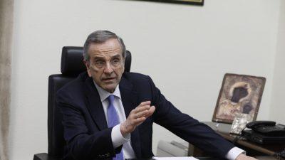Α.Σαμαράς: Η Μέρκελ είδε τον Τσίπρα ως ευκαιρία για να ξαναβάλει το Grexit στο τραπέζι