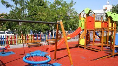 Δήμος Σερρών : Αναμόρφωση παιδικής χαράς για την κοινωνική ενσωμάτωση των προσφύγων