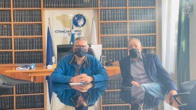 Επιμελητήριο Σερρών : Συνεχίζονται οι συναντήσεις Μαλλιαρα με εκπροσώπους σωματείων και επαγγελματικών φορέων