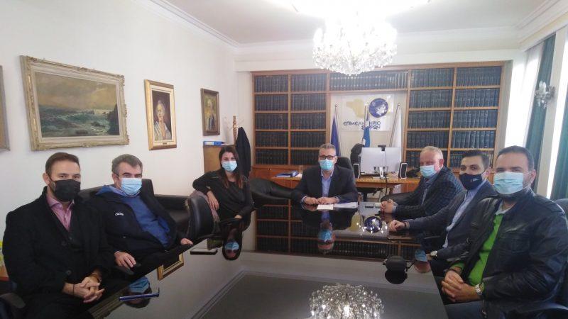 Επιμελητήριο Σερρών : Συνάντηση Μαλλιαρα με τη διοίκησή του Οικονομικού Επιμελητηρίου