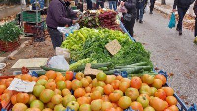 Σέρρες : Η λειτουργία της λαϊκής αγοράς την Τρίτη 12 Οκτωβρίου